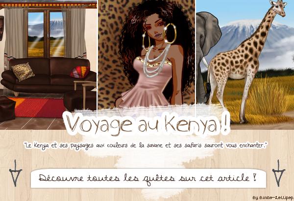 Quêtes du voyage au Kenya