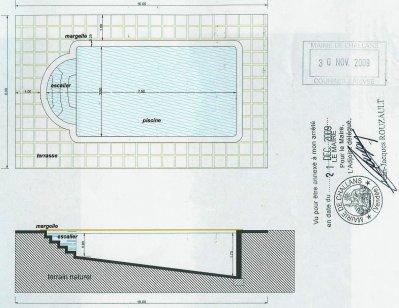 Schema de coupe et caract ristiques de la piscine blog de zipjunior - Coupe menstruelle piscine ...