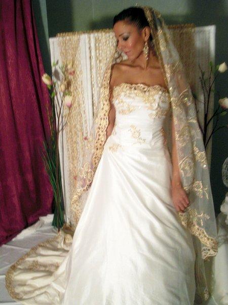 robe blanche mariage oriental - Robes Orientales Mariage