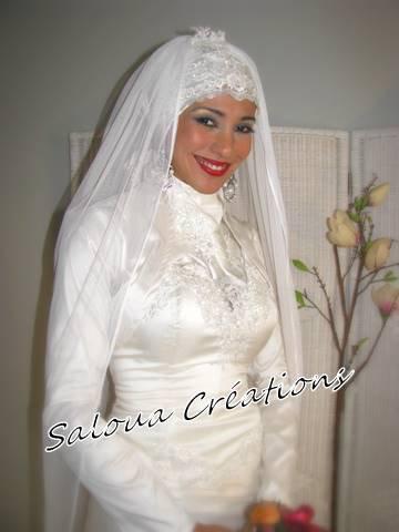 Robes De Mariee: Robe De Mariée Avec Hijab Paris