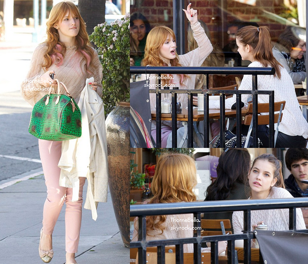 Barbara Palvin And Bella Thorne Grand Actus de ...