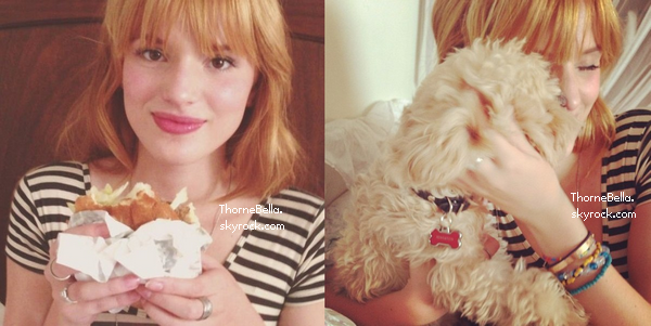 Nouvelles photos twitter de Bella du 27 juin 2013.